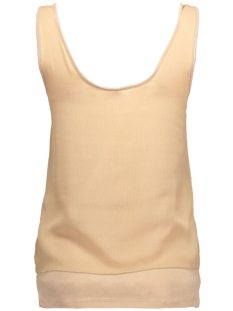 onlrule s/l dbl top 15118333 only top warm taupe/ jersey cog