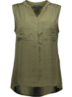 Vila Top viMelli Pocket Top 14033198 ivy green