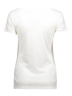 jdyuffe s/s print top jrs 15127866 jacqueline de yong t-shirt cloud dancer/hamburger