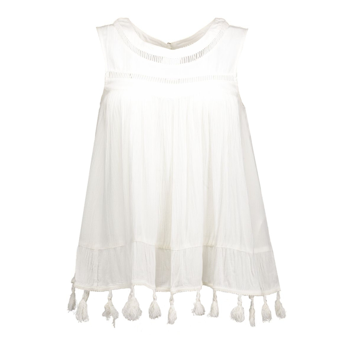 onljennifer tassel  s/l top wvn 15117067 only top cloud dancer