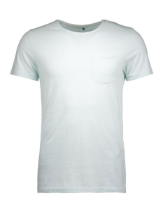 jorbullypocket tee ss crew neck 12106505 jack & jones t-shirt surf spray/pocket.ta