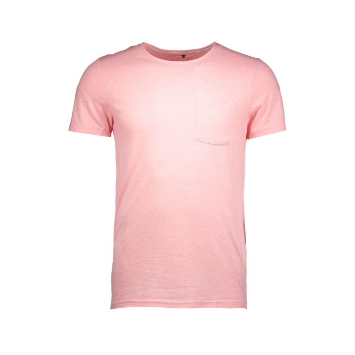 jorbullypocket tee ss crew neck 12106505 jack & jones t-shirt quartz pink/pocket.ta