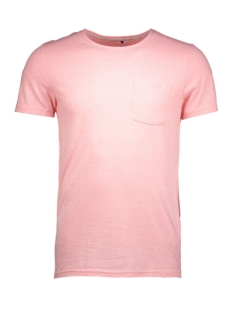 jorbullypocket tee ss crew neck 12106505 jack & jones t-shirt quartz pink/pocket.ta