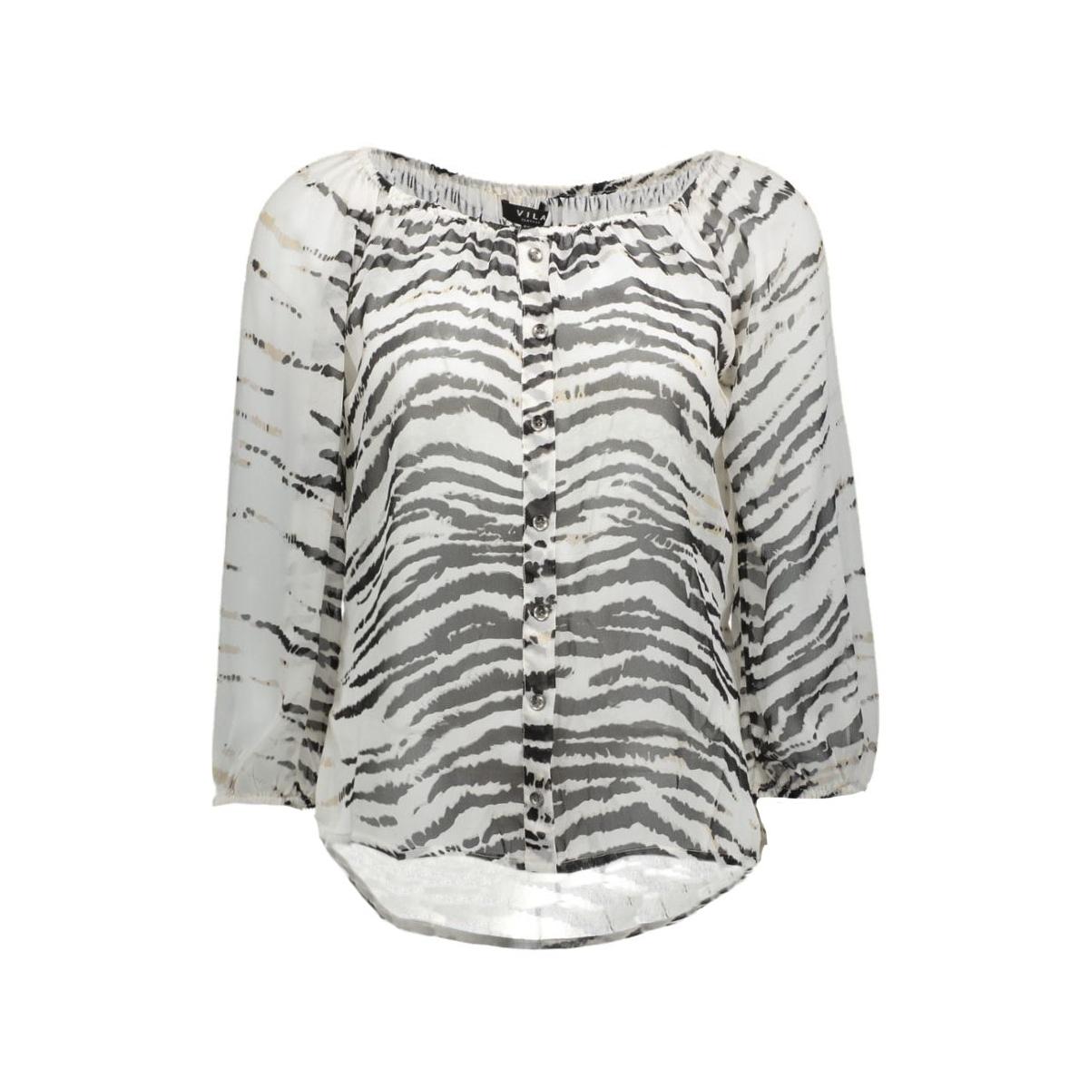 vizoo top 14035027 vila blouse snow white/zoo