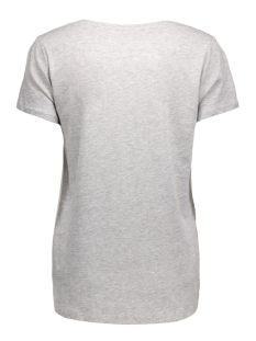 onlrhina s/s radio/girl top box ess 15118402 only t-shirt light grey mela/girl