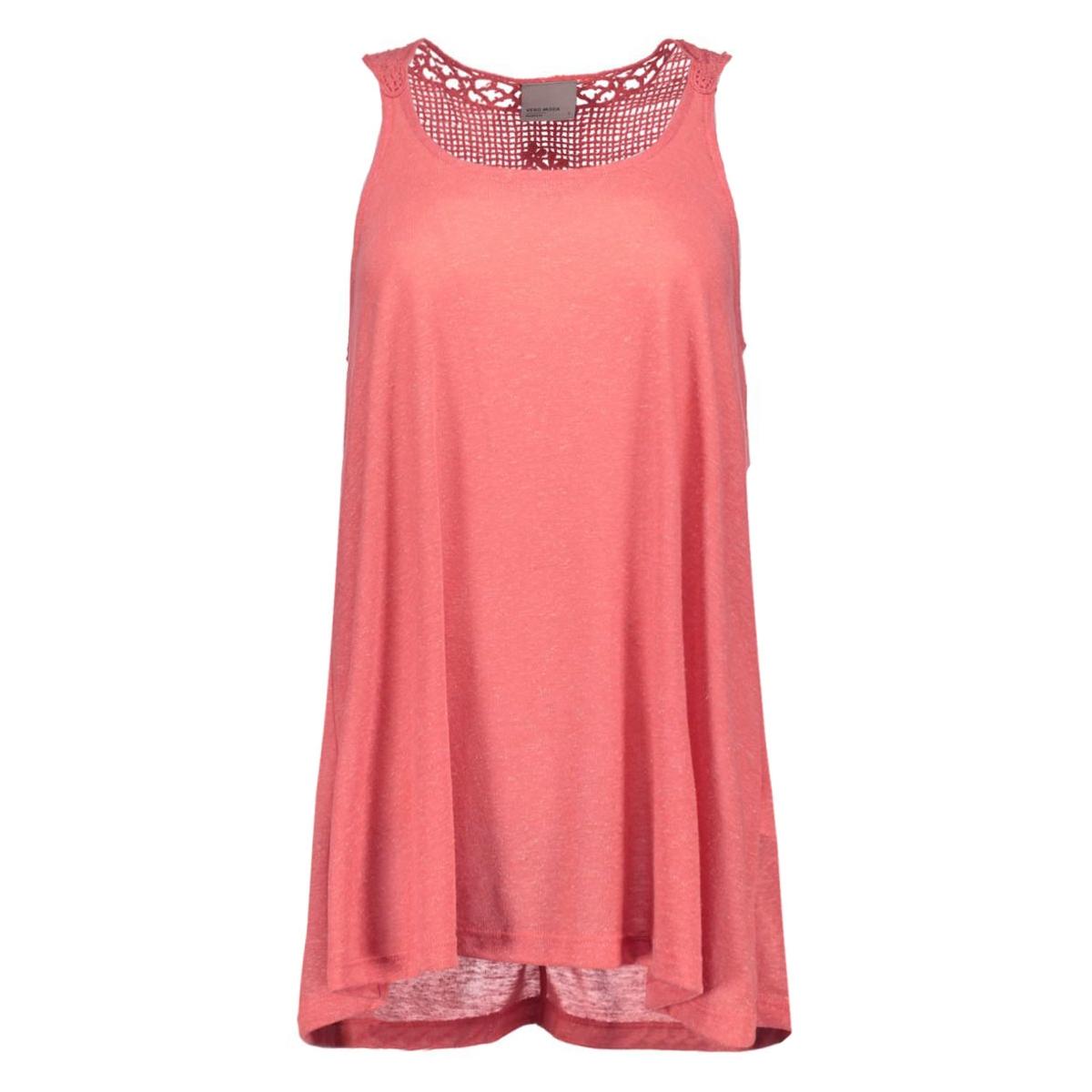 vmmolly s/l top 10157754 vero moda top rose of sharon/melange