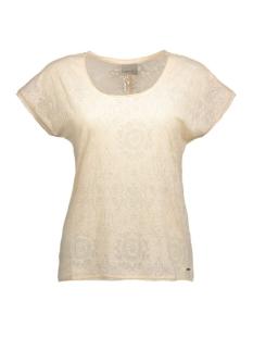 vmerin ss wide top a 10156067 vero moda t-shirt cream tan