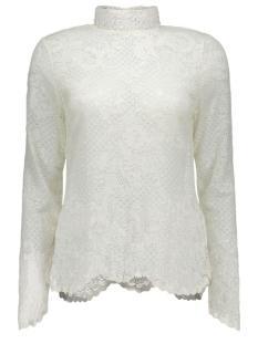 viloras l/s lace top-noos 14036709 vila t-shirt pristine
