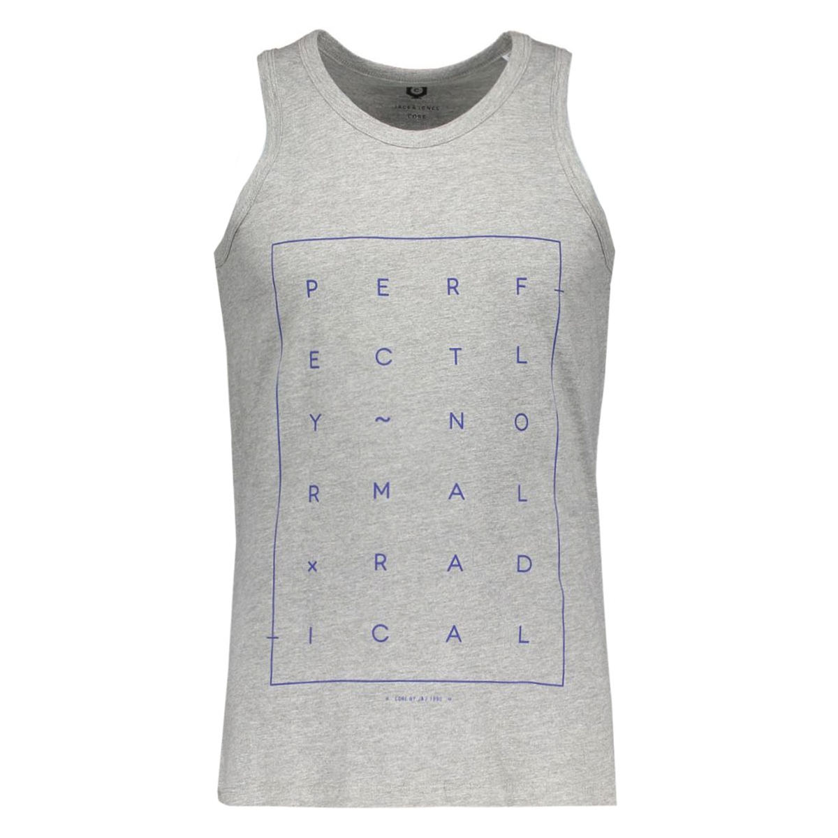 jcoair tee tank top 12107339 jack & jones t-shirt mela/reg tight