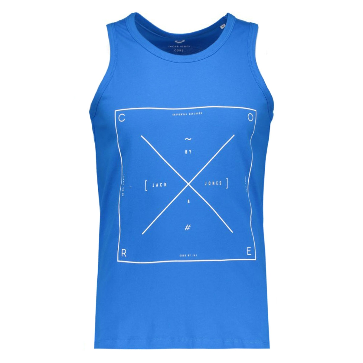 jcoair tee tank top 12107339 jack & jones t-shirt directoire blue/reg tight