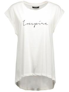 vidreamers text t-shirt 14037496 vila t-shirt snow white/ebony text