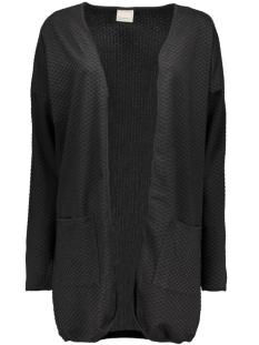 Vero Moda Vest VMJENNY LS LONG CARDIGAN 10160753 Black/Solid