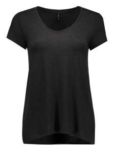 onlmoster s/s v-neck top noos jrs 15123710 only t-shirt black