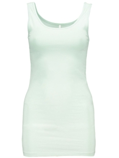 onlLIVE LOVE LONG TANK TOP NOOS 15060061 Aqua Foam