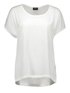 vijers s/s top 14037986 vila t-shirt snow white