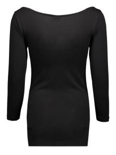 viofficiel boatneck top 14036472 vila t-shirt black