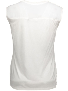 onltext fabric mix s/s top box jrs 15126474 only top cloud dancer/comb2