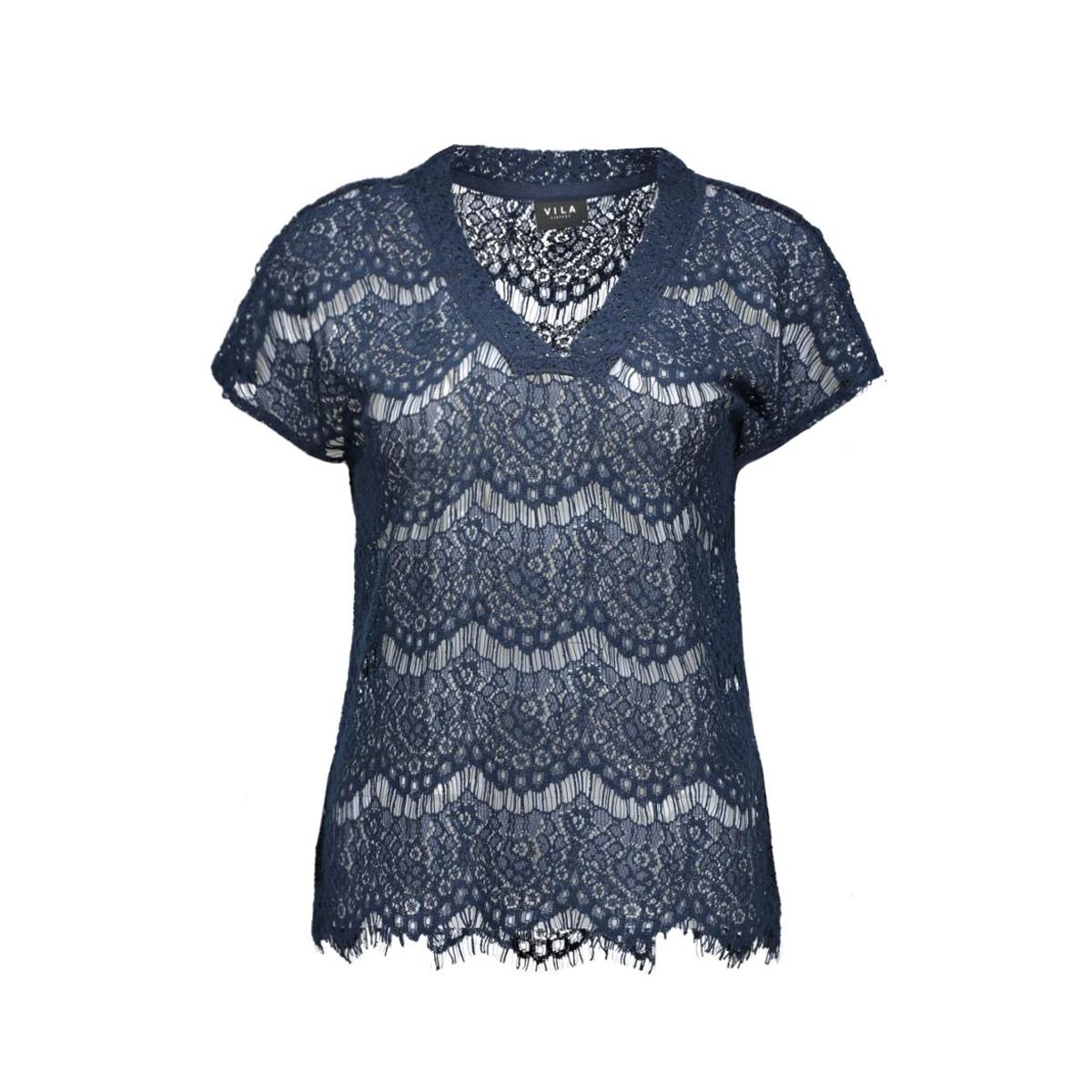 viamira top tb 14036480 vila t-shirt total eclipse