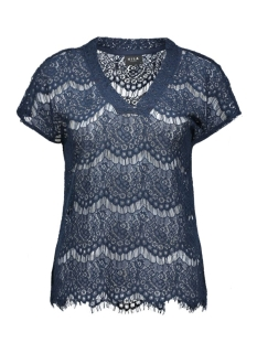 Vila T-shirt VIAMIRA TOP TB 14036480 Total Eclipse