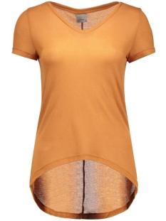 vmlondon ss v-neck top boo 10158555 vero moda t-shirt adobe