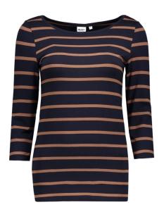 Object T-shirt OBJELONA 3/4 BOATNECK TOP NOOS 23022841 Sky Captain- Noos