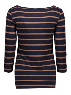 objelona 3/4 boatneck top noos 23022841 object t-shirt sky captain- noos