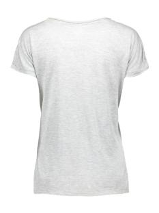 vmkrista new ss top dnm 10156531 vero moda t-shirt light grey mela/w. front p