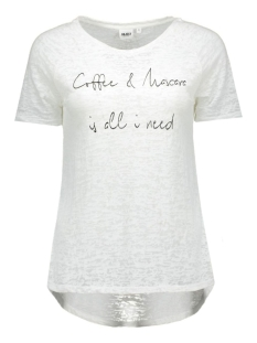 objperla s/s top ex hs 23023289 object t-shirt bright white