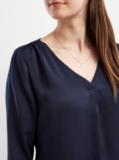 vimelli l/s new top-noos 14036767 vila blouse total eclipse/dots