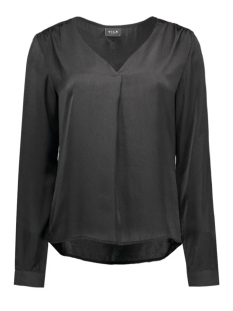 Vila Blouse VIMELLI L/S NEW TOP-NOOS 14036767 Black/Dots