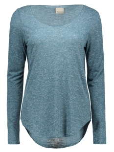 Vero Moda T-shirt VMLUA LS TOP NOOS 10158658 Reflecting Pond
