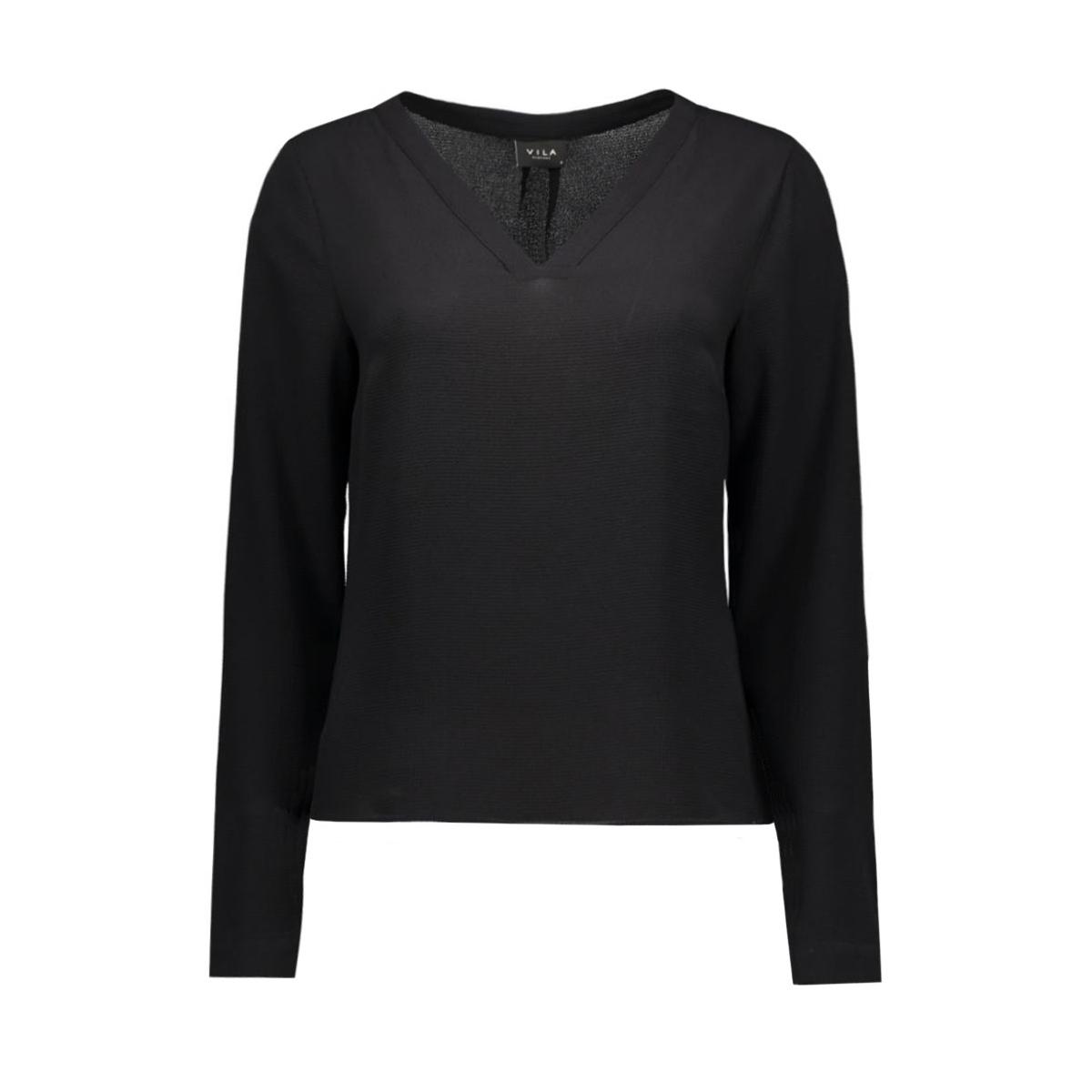viremember l/s top-noos 14036047 vila blouse black