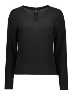VIREMEMBER L/S TOP-NOOS 14036047 Black