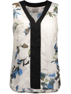 vmwanda contrast s/l top e10 10168645 vero moda top antique white/ japan