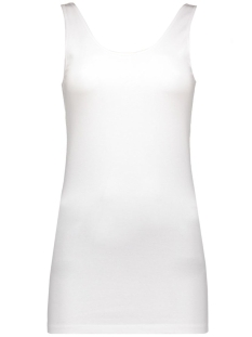 vmmaxi my soft uu long tank top noos 10147661 vero moda top bright white