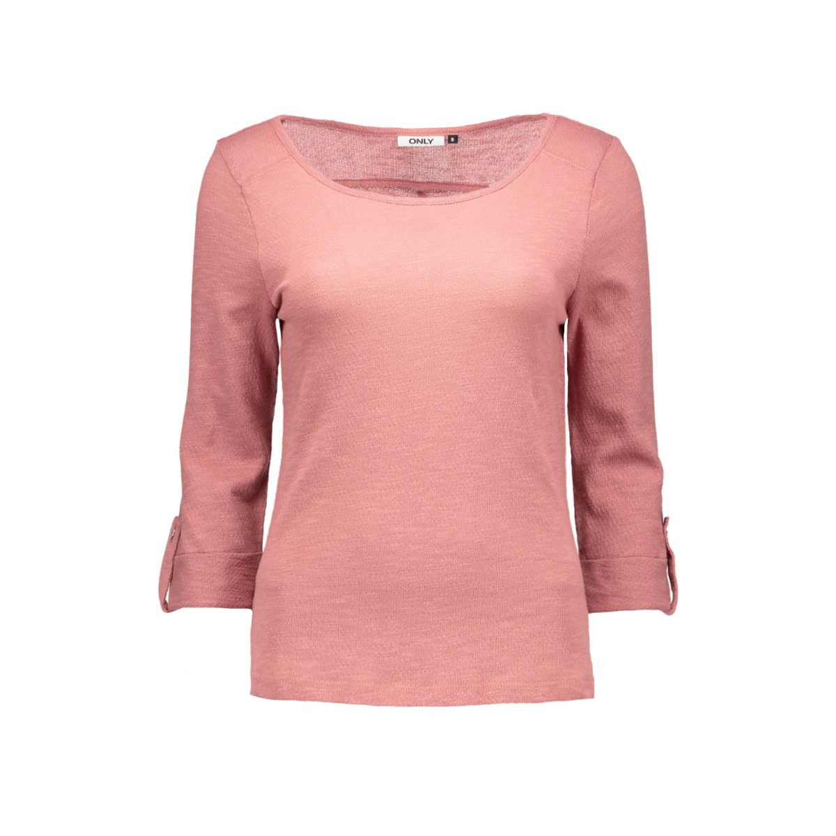 onljess 3/4 top jrs noos 15096632 only t-shirt withered rose