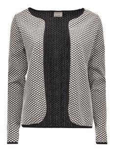 vmjenny ls cardigan 10160759 vero moda vest snow white/base