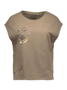 onlpolly s/s top box jrs 15123028 only t-shirt tamrac/ bead embro