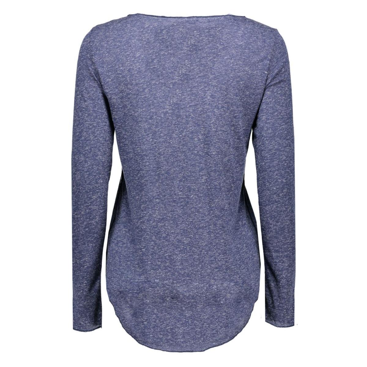 vmlua ls top noos 10158658 vero moda t-shirt black iris