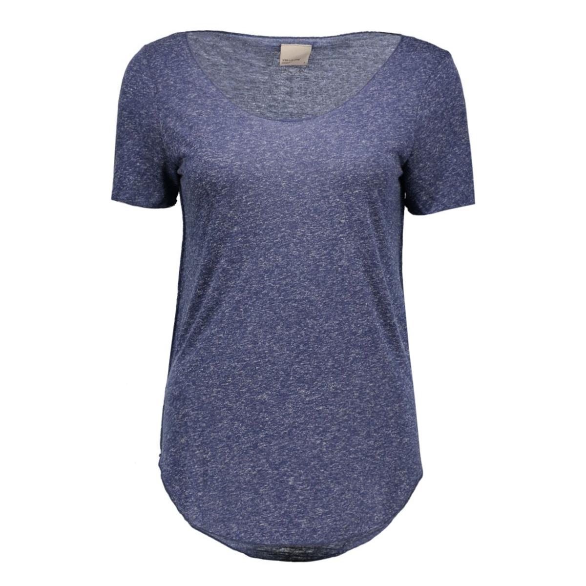 vmlua ss top noos 10149900 vero moda t-shirt black iris
