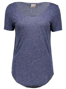 Vero Moda T-shirt VMLUA SS TOP NOOS 10149900 Black Iris