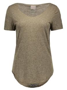 vmlua ss top noos 10165465 vero moda t-shirt ivy green