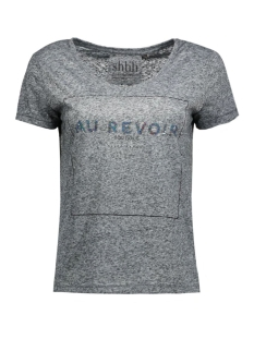 Only T-shirts onlKIMMI S/S ANYTHING/REVOIR TOP BO 15124409 Jet Set/Revoir
