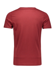 joroli tee ss crew neck 12109048 jack & jones t-shirt syrah