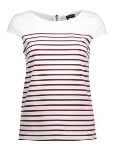 Vila T-shirts VITINNY CAP SLEEVE TOP 14036940 Snow White