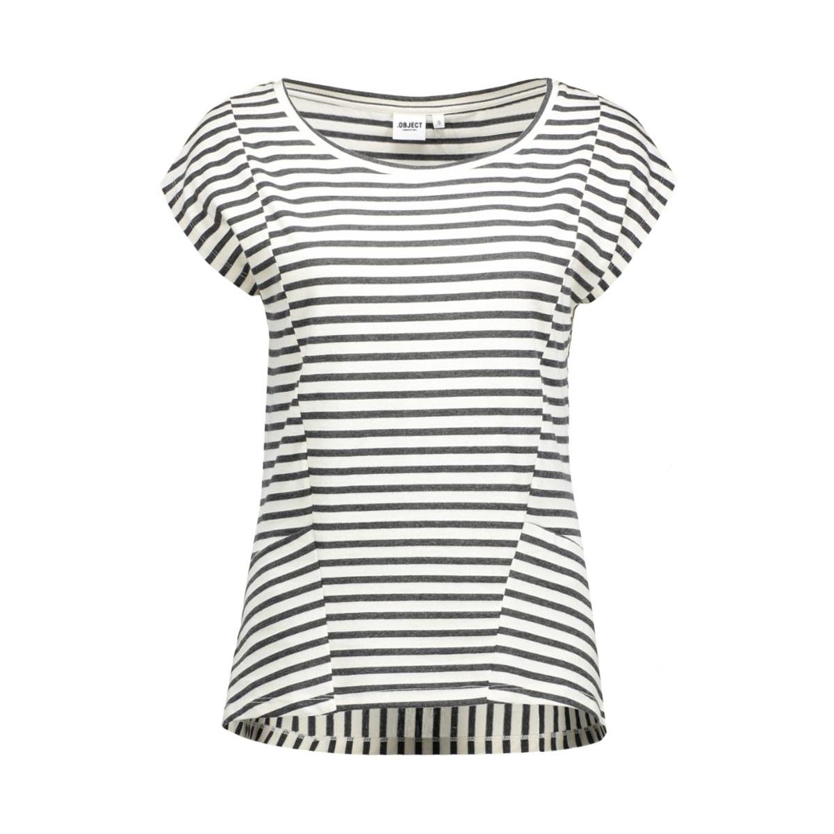 objkany s/s tee a 23024048 object t-shirt gardenia