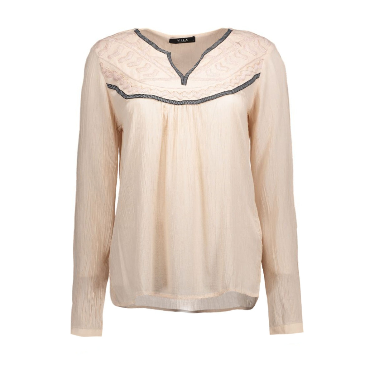 viparina top 14037105 vila blouse shifting sand