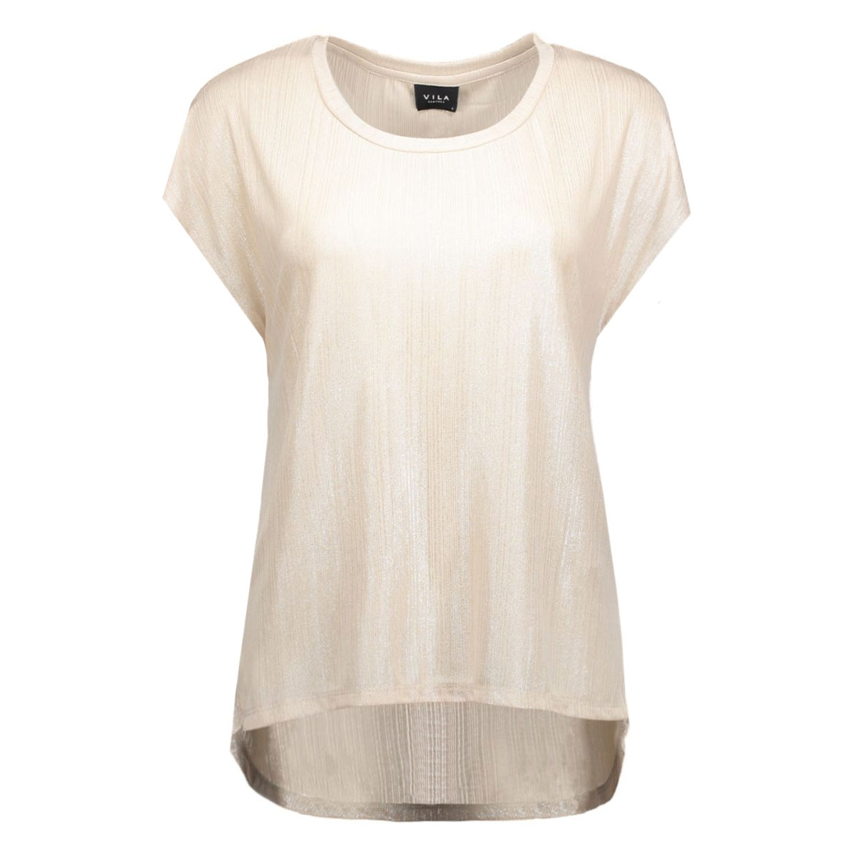vipol s/s top 14037540 vila t-shirt frosted almond