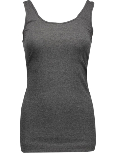 VMMAXI MY SOFT UU LONG TANK TOP NOO 10147661 Dark grey Melange