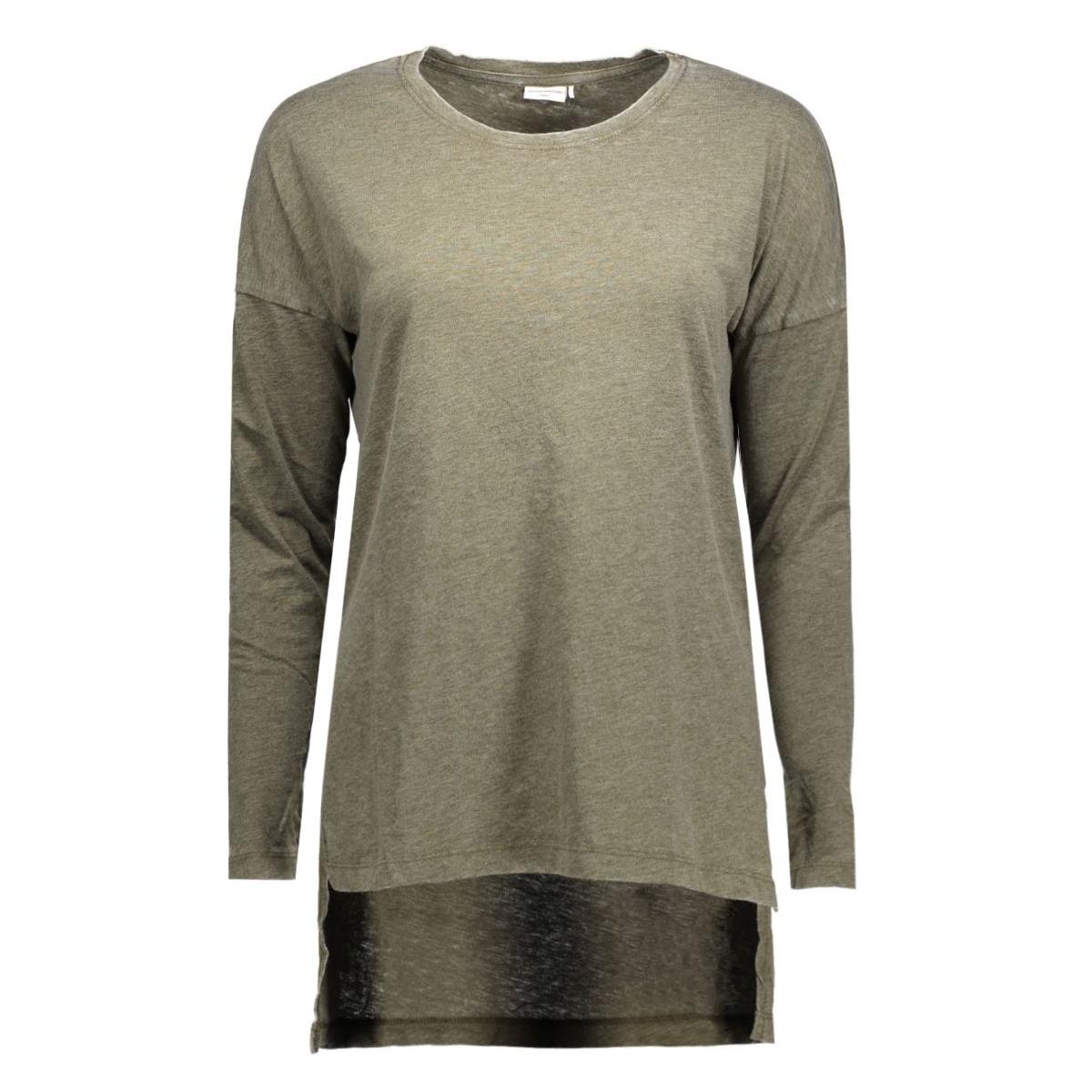 jdyburn l/s tunic jrs 15118027 jacqueline de yong t-shirt dark olive